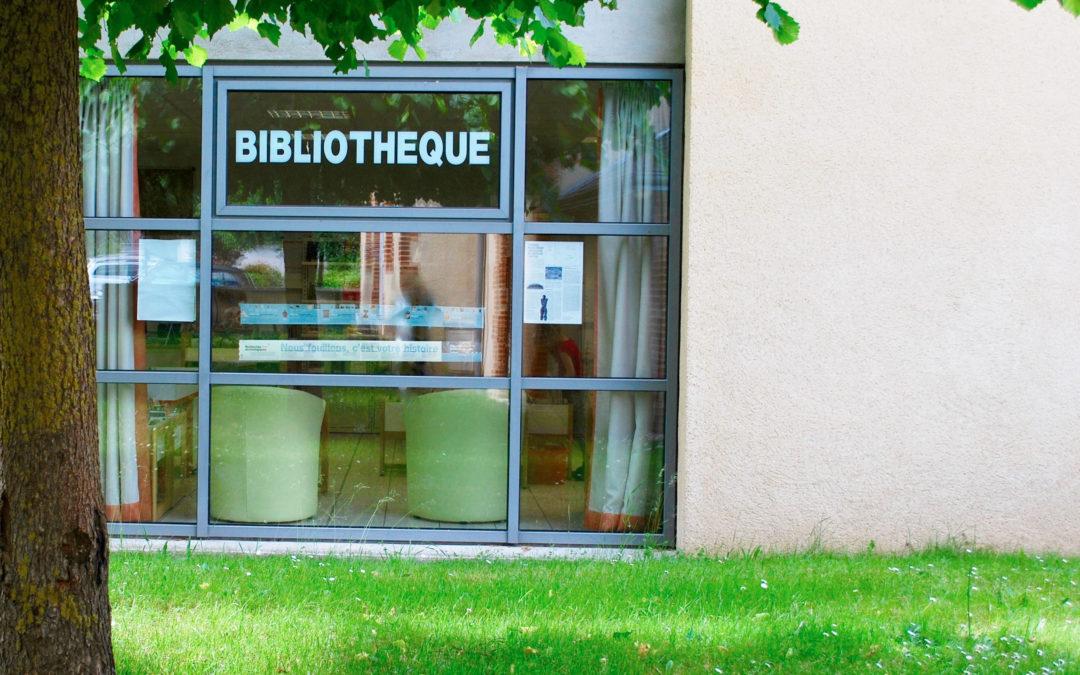 3 juin 2020 : La bibliothèque est ouverte