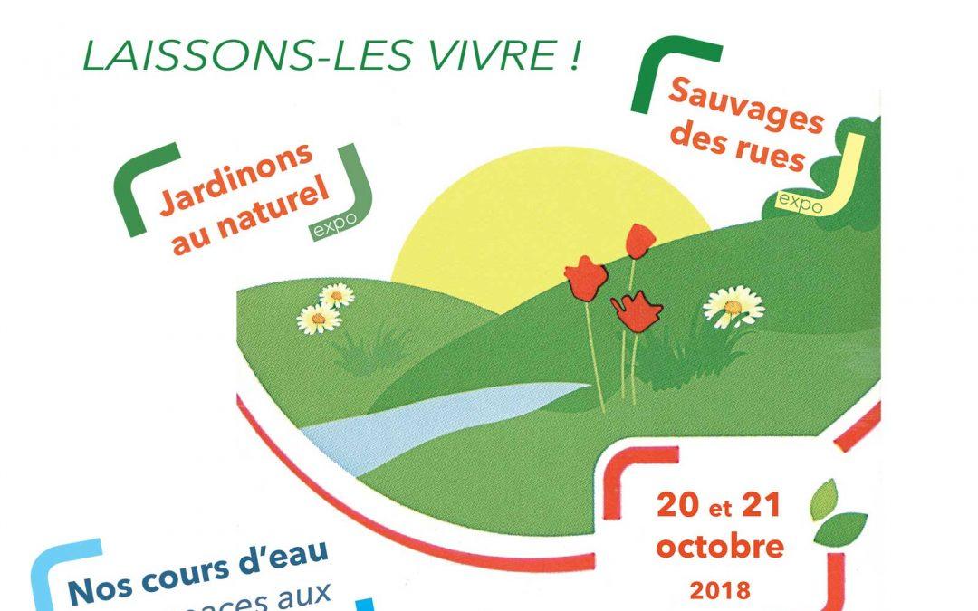 20-21 octobre 2018 : S.O.S. Plantes Vagabondes – Expositions à Ambillou